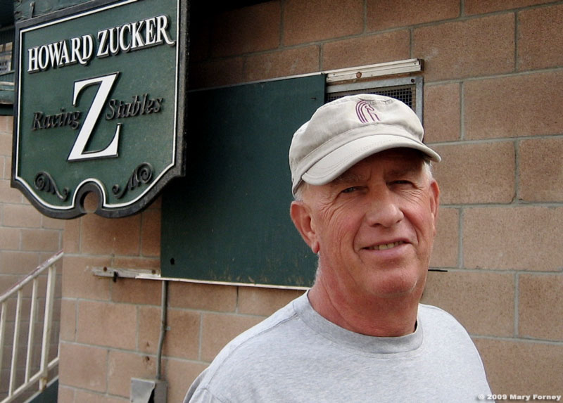 Howard Zucker thoroughbred trainer