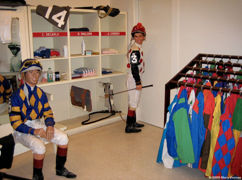 Jocks Room museum exhibit