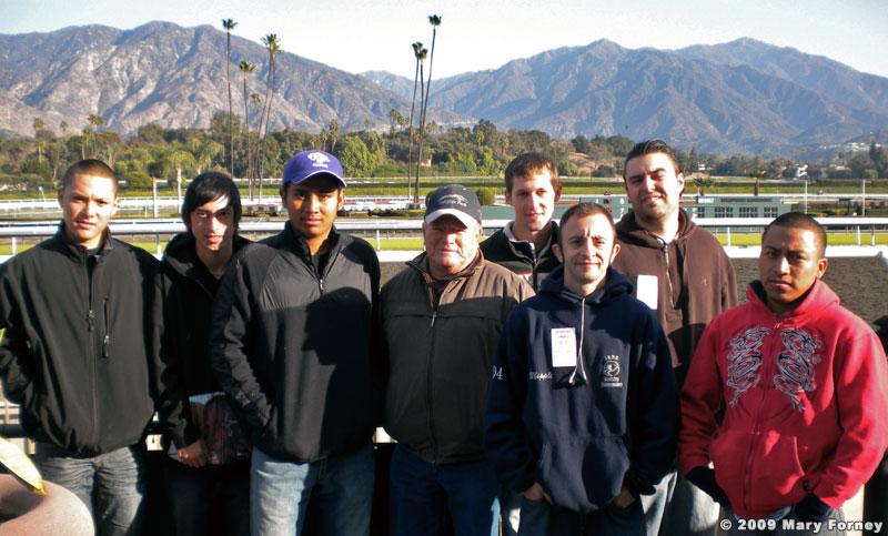 Frank Garza Jockey School Students