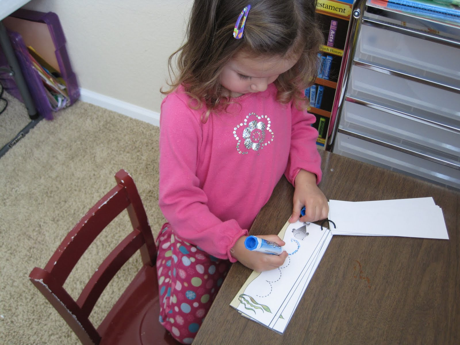 Letter F for Fish - Confessions of a Homeschooler