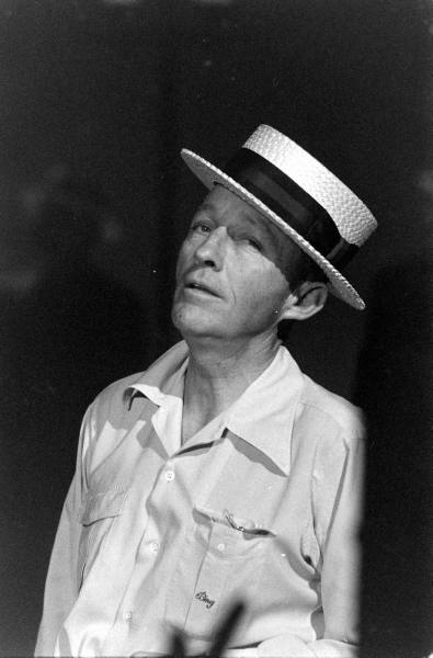 Bing Crosby Blackface Couple months later, crosby