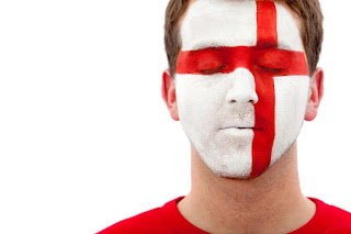 England Face Body Painting