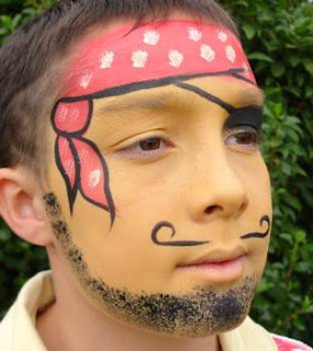 Easy Face Painting Design