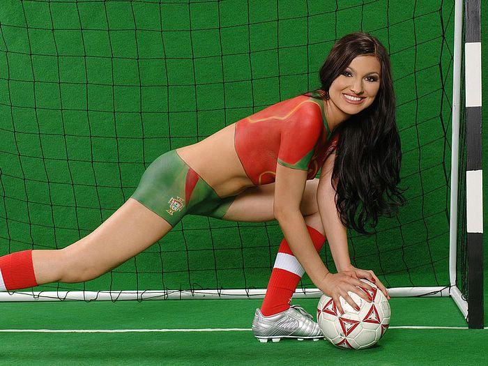 world Cup Bodypaint