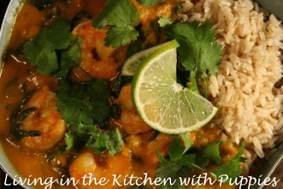 ... Kitchen with Puppies: Nigella's Thai Yellow Pumpkin and Seafood Curry