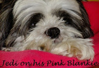 Awwww, Who has a pink blankie?