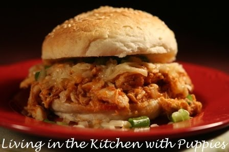 for pulled bbq chicken sammies. Or burgers. Or pulled pork sammies ...