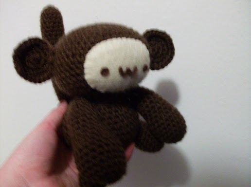 Amigurumi Free Pattern Crochet : 2000 Free Amigurumi Patterns: Amigurumi monkey pattern