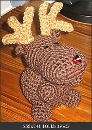 Rudy Reindeer Amigurumi : 2000 Free Amigurumi Patterns: Rudy the Reindeer Christmas ...