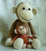 Amigurumi Big Monkey : 2000 Free Amigurumi Patterns: Monkey