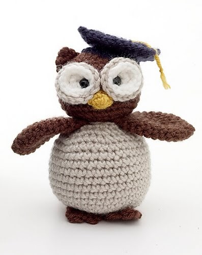 Amigurumi Pattern Free Owl : Free amigurumi patterns graduation owl