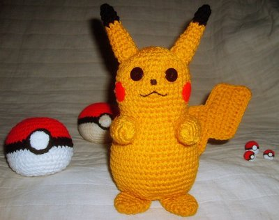 Amigurumi Free Patterns Bunny : 2000 Free Amigurumi Patterns: Pikachu (2)