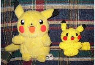 Amigurumi Patterns Pikachu : 2000 free amigurumi patterns: pikachu