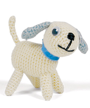 Amigurumi Pug Dog Pattern : 2000 Free Amigurumi Patterns: Playful Puppy