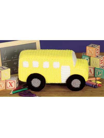 Amigurumi Cat Bus Pattern : 2000 Free Amigurumi Patterns: School Bus Toy