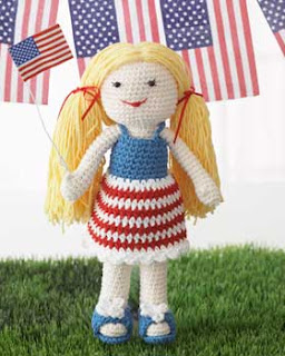 2000 Free Amigurumi Patterns: Lily Born on the 4th of July ...