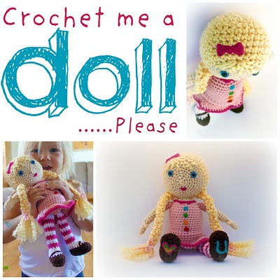 Amigurumi Human Doll Free Pattern : 2000 Free Amigurumi Patterns: Crochet me a doll