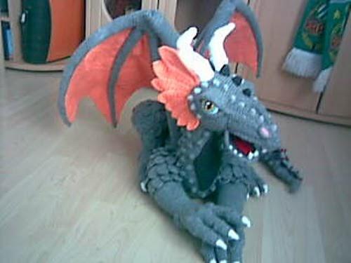 Free Easy Dragon Crochet Pattern : 2000 Free Amigurumi Patterns: Dragon Trilogie - Ragnar?k