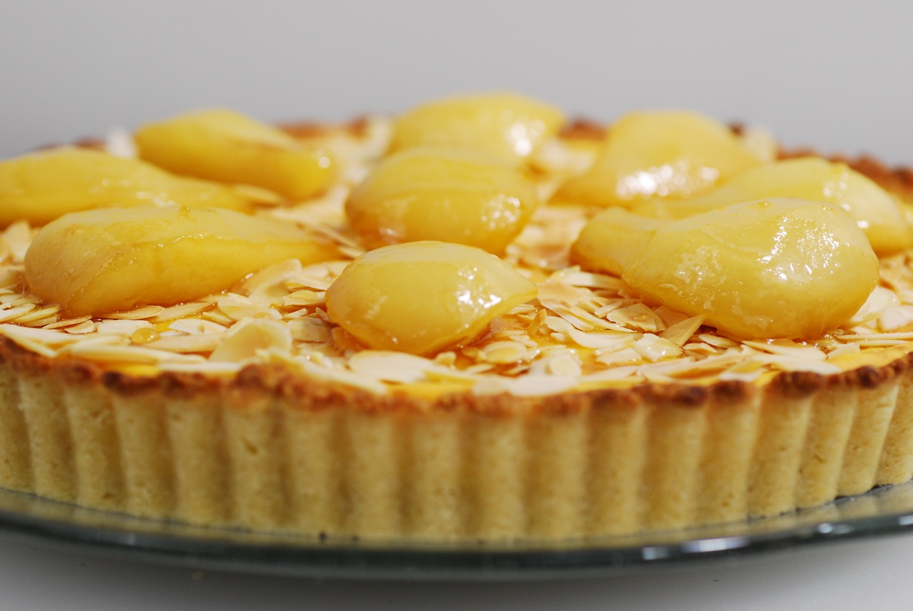 Know Whey: Ricotta Tart with Toasted Almonds, Ginger, and Caramelized ...