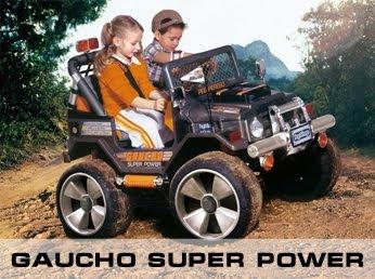 Детский электромобиль Gaucho Super Power