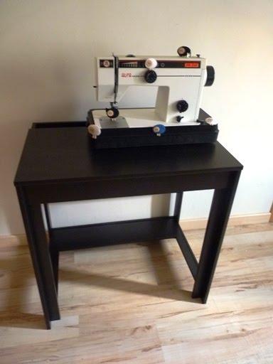 Viva ikea la m quina de coser ovejita be - Mesa para maquina de coser ikea ...