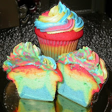 Original Over the Rainbow Cupcake