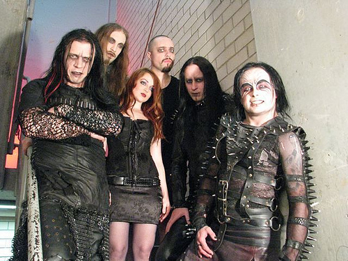 cradle of filth. CRADLE OF FILTH / Darkly,