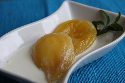 konserverade päron recept