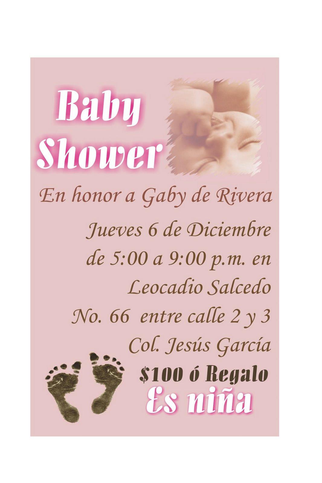 frases para invitaciones baby shower invitacin para los que les