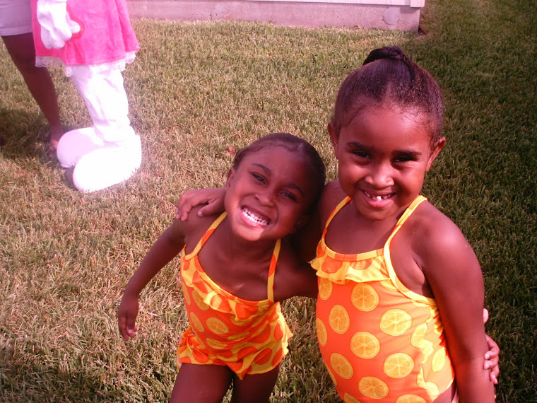 My 2 babies chillin at the pool party