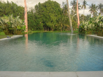 Zwembad van Villa Sabandari, een boutique hotel in Ubud op Bali