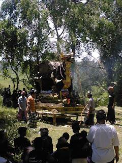 (luxe) crematie nabij Ubud