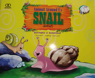 Siput = Snail (Blog Villa Sabandari rice field villa near Ubud)