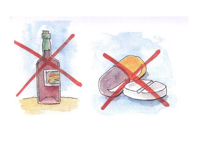 A ajuda de remédios de alcoolismo