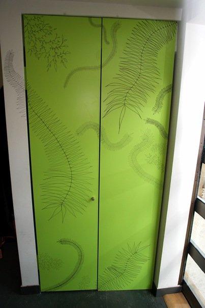 Diseño de Puertas para un closet