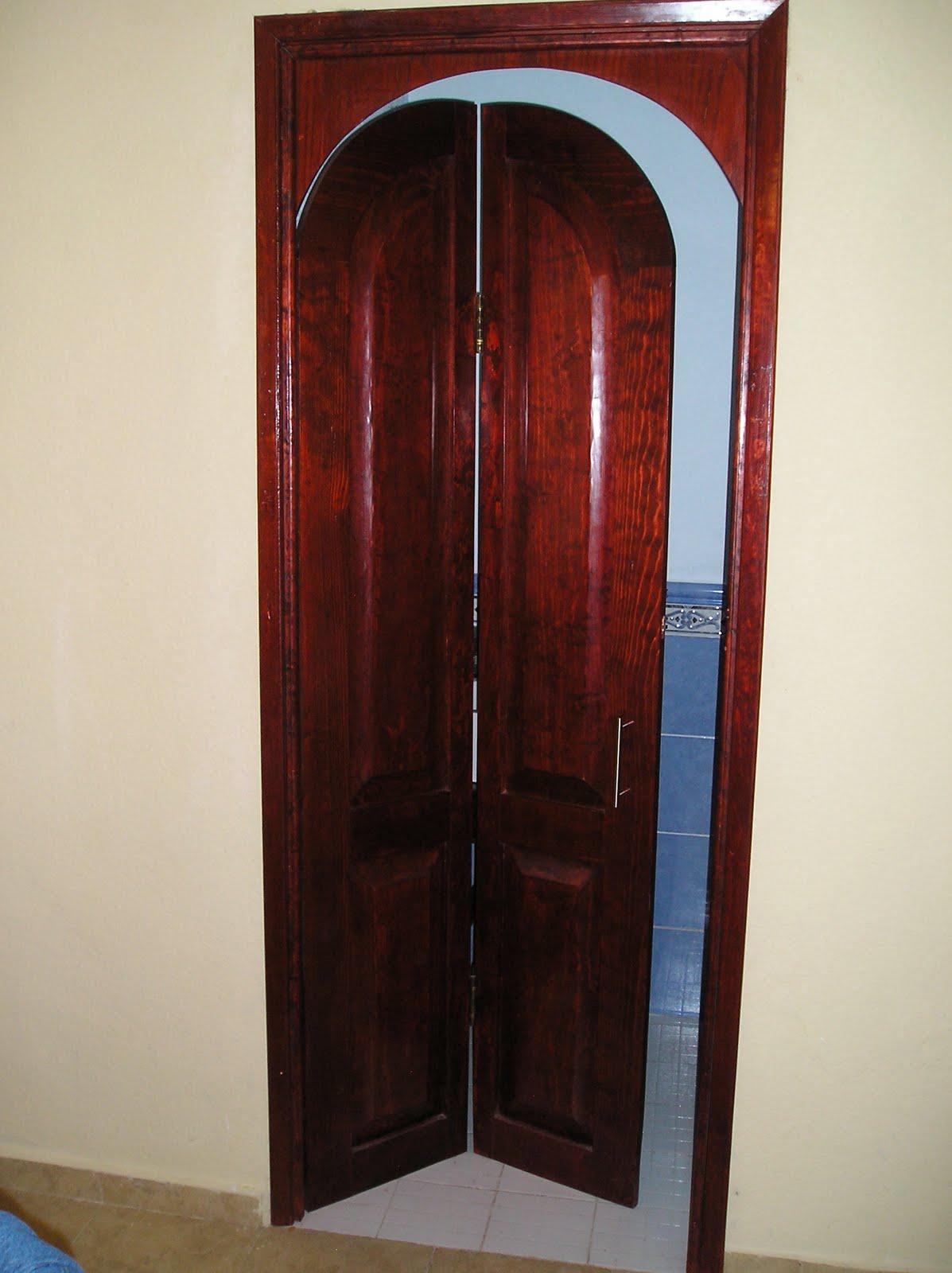 Puerta en arco for Arcos de madera para puertas
