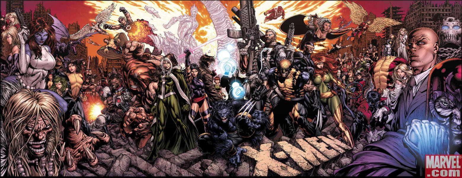 COLECCIÓN DEFINITIVA: MUTANTES Y X-MEN [UL] [cbr] X-Men+200+Finch