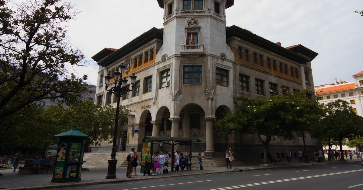 Imagenes de santander cantabria infinita el edificio de for Oficina de correos santander