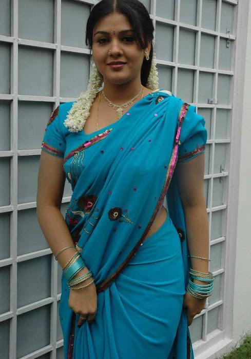 tollywood jyothi krishna in blue saree unseen pics