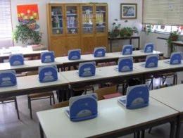 O PC Magalhães na sala de aulas
