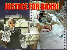 JUSTICE FOR BAKRI