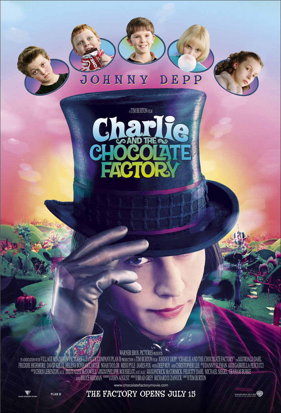 the charlie and the chocolate factory movie poster meets the    Charlie And The Chocolate Factory Movie Poster