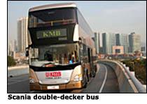scania double decker