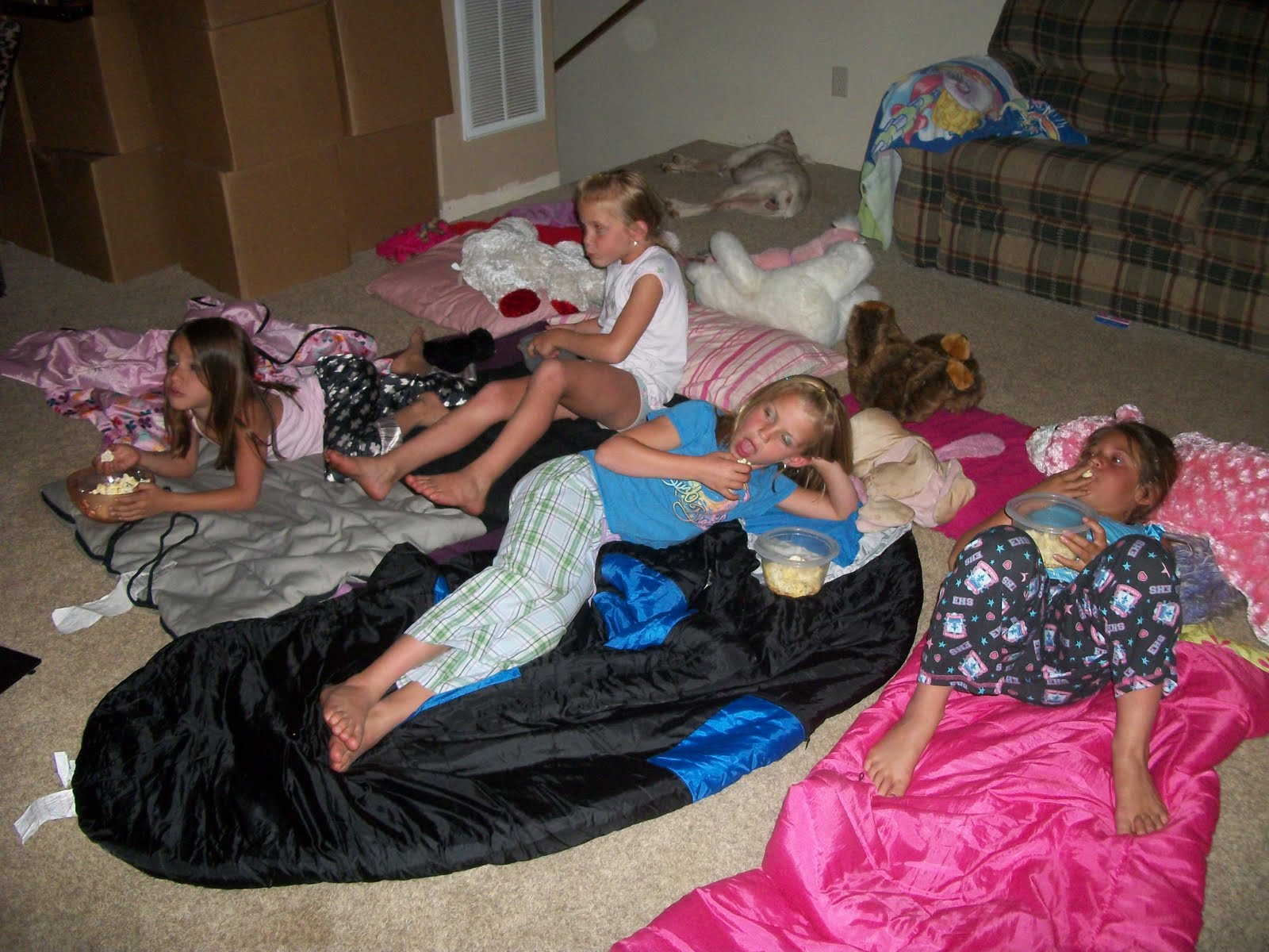 first sleep over party pornichet sites