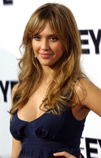 jessica alba hair color pictures. jessica alba short hair