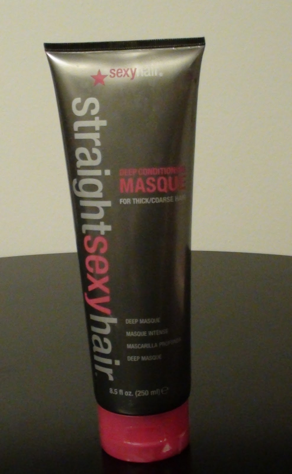 Straight sexy hair deep conditioning masque