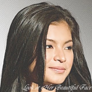 Angel Locsin's Beautiful Face Implying Maturiy And Calmness