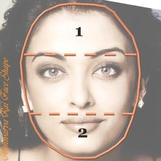 Aishwarya Rai Face Shape