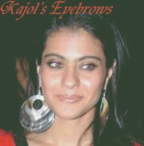 Kajol's Super Eyebrows