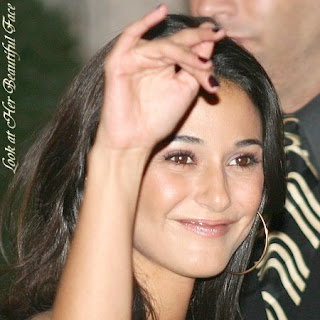 Look at Emmanuelle Chriqui Beautiful Face